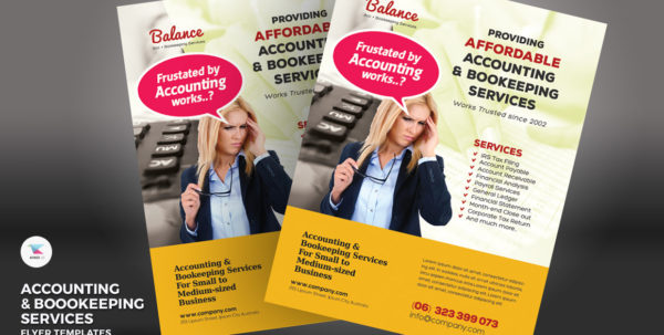 Accounting & Bookkeeping Services Flyers Corporate Identity Template In Bookkeeping Flyer Template Free Bookkeeping Flyer Template Free Bookkeeping Spreadsheet