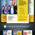 Accounting & Bookkeeping Services Flyers Corporate Identity Template Inside Bookkeeping Flyer Template