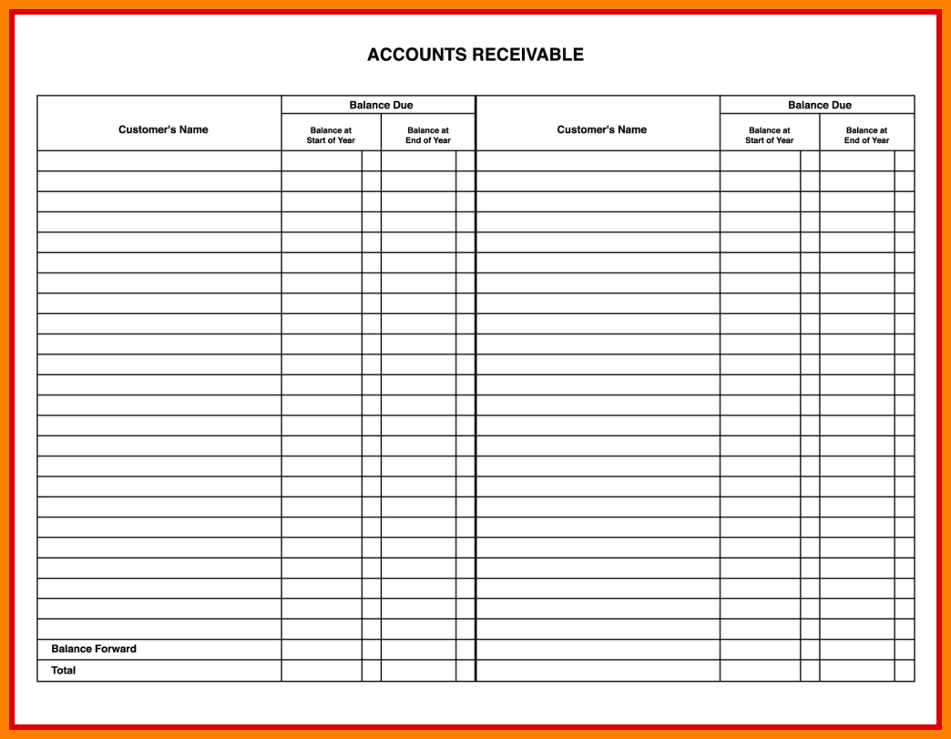 Accounting Ledger Book Template Free 10   Down Town Ken More Inside Accounting Ledger Book Template Free