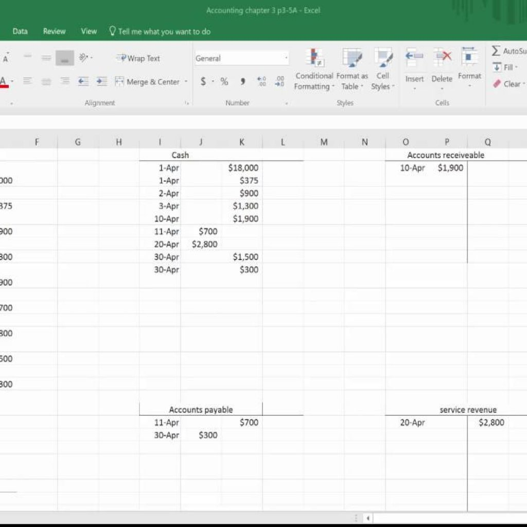 Accounting Ledger Book Template Free   Ledger Accounts Balance Sheet Inside Accounting Ledger Book Template Free