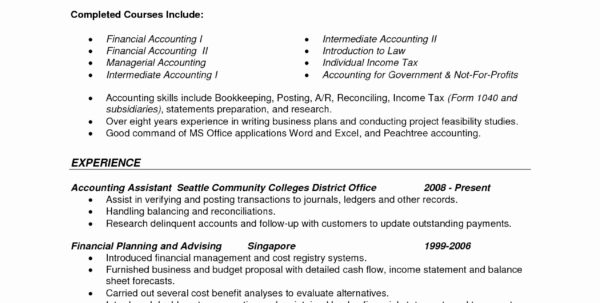 Accounting Services Proposal Unique Sample Objective For Resume Best For Bookkeeping Business Plan Example