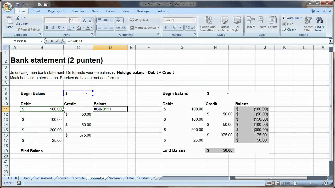Accounting Software: Free Accounting Software In Excel With Bookkeeping In Excel Tutorial