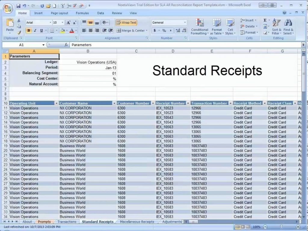Accounts Receivable Template Excel Blank Inventory Spreadsheet In Accounts Receivable Excel Spreadsheet Template