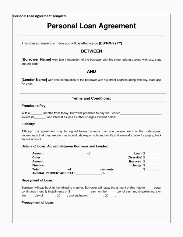 Auto Finance Agreement Form Elegant Loan Payment Spreadsheet And Loan Payment Spreadsheet Template