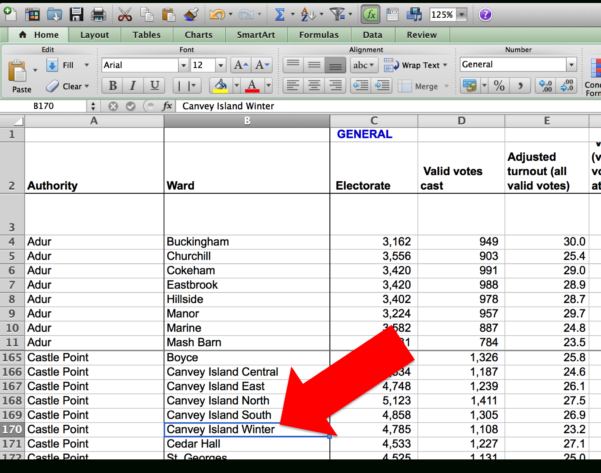 Bad Data   Open Knowledge Foundation And Example Of Spreadsheet Data