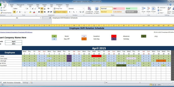 Bar Inventory Templates Bar Inventory Templates Monthly Staff With Monthly Staff Schedule Template Excel