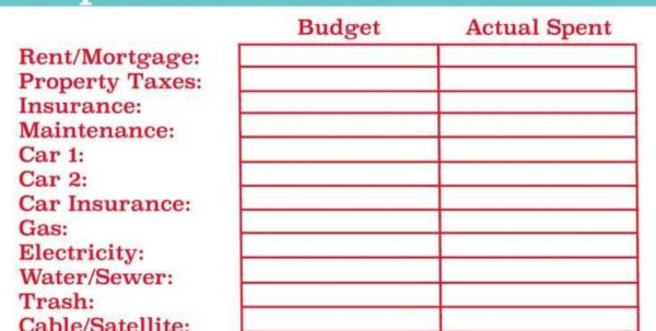 Best Monthly Budget Template Ideas On Pinterest Family With Free To Free Budget Spreadsheet Templates