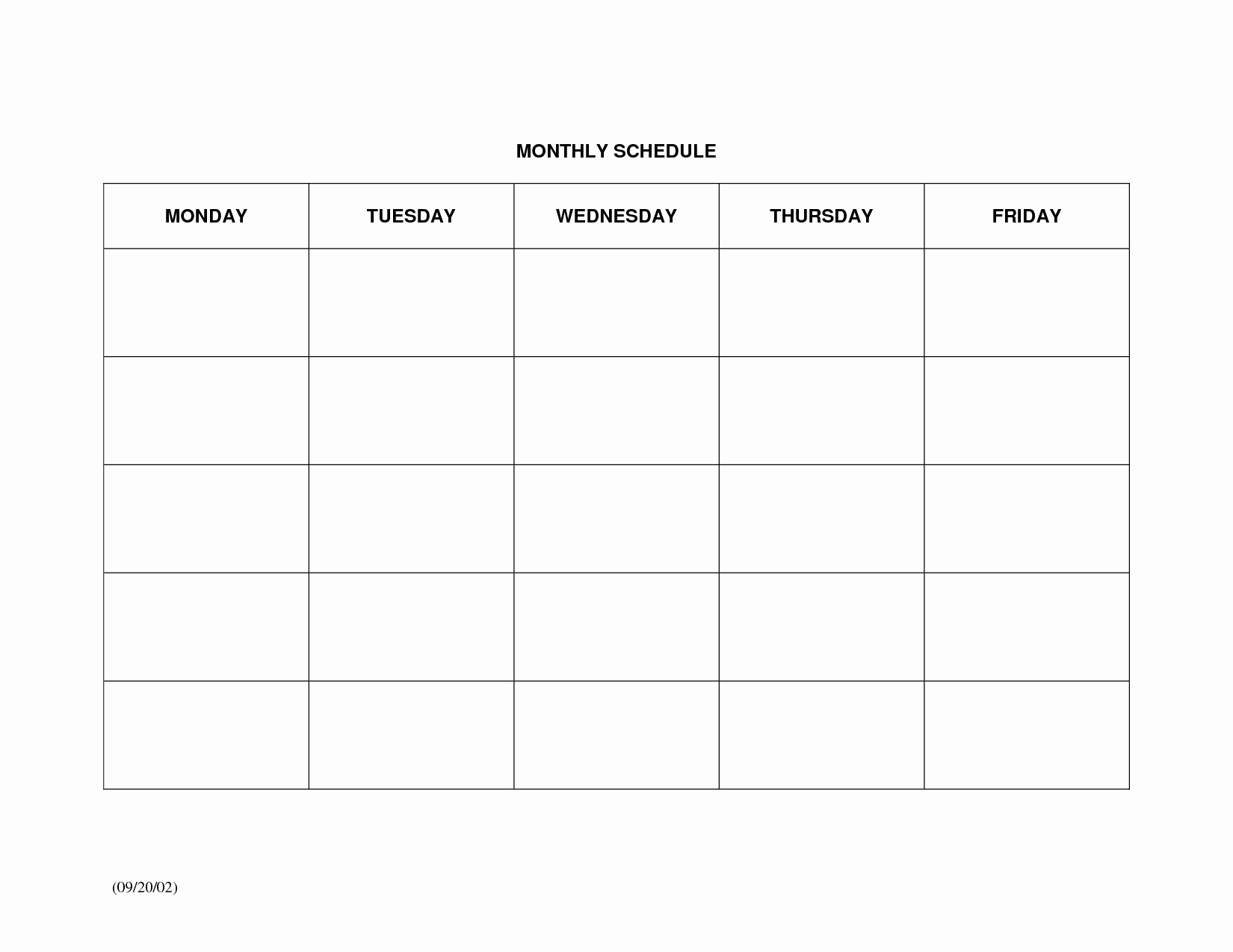 Best Of Weekly Work Schedule Template Aguakatedigital Templates Intended For Monthly Work Schedule Template Pdf