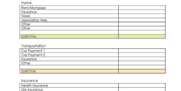 Bill Tracking Spreadsheet Template Also Simple Personal Bud Throughout Simple Excel Spreadsheet Template