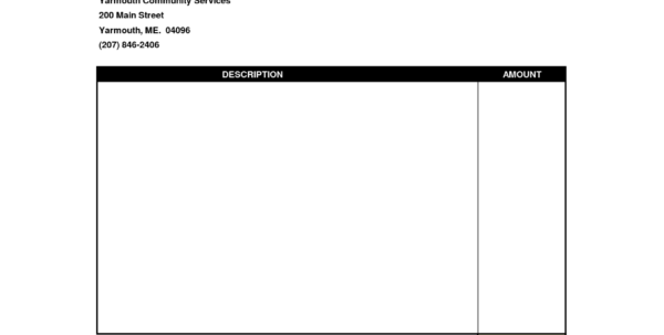 Blank Invoice Template Word Within Excel Spreadsheet Invoice Template