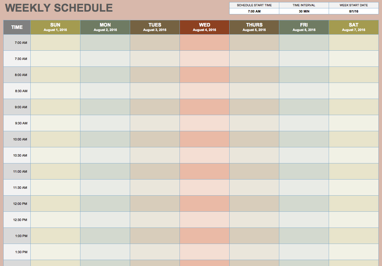 Blank Monthly Work Schedule Template Site Image Monthly Work Throughout Monthly Work Schedule Template Free