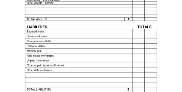 Blank Personal Balance Sheet Lovely Balance Sheet Template Google To Personal Financial Balance Sheet Template