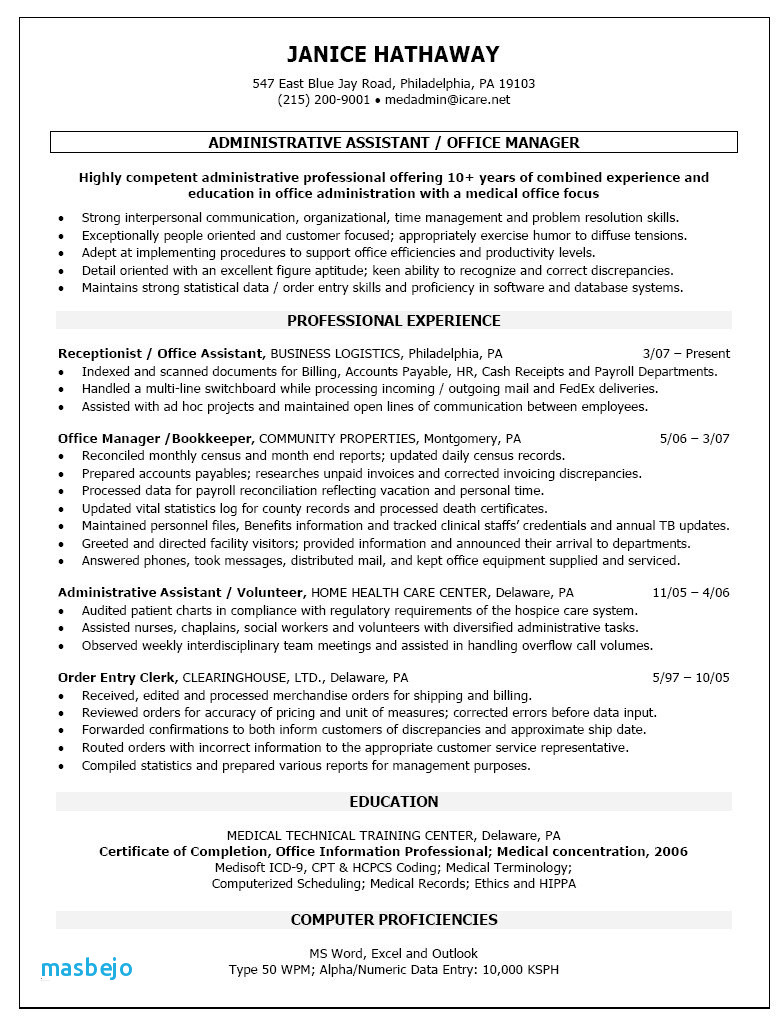 Bookkeeper Resume Examples 59 New Entry Level Bookkeeper Resume For Bookkeeping Resume Templates