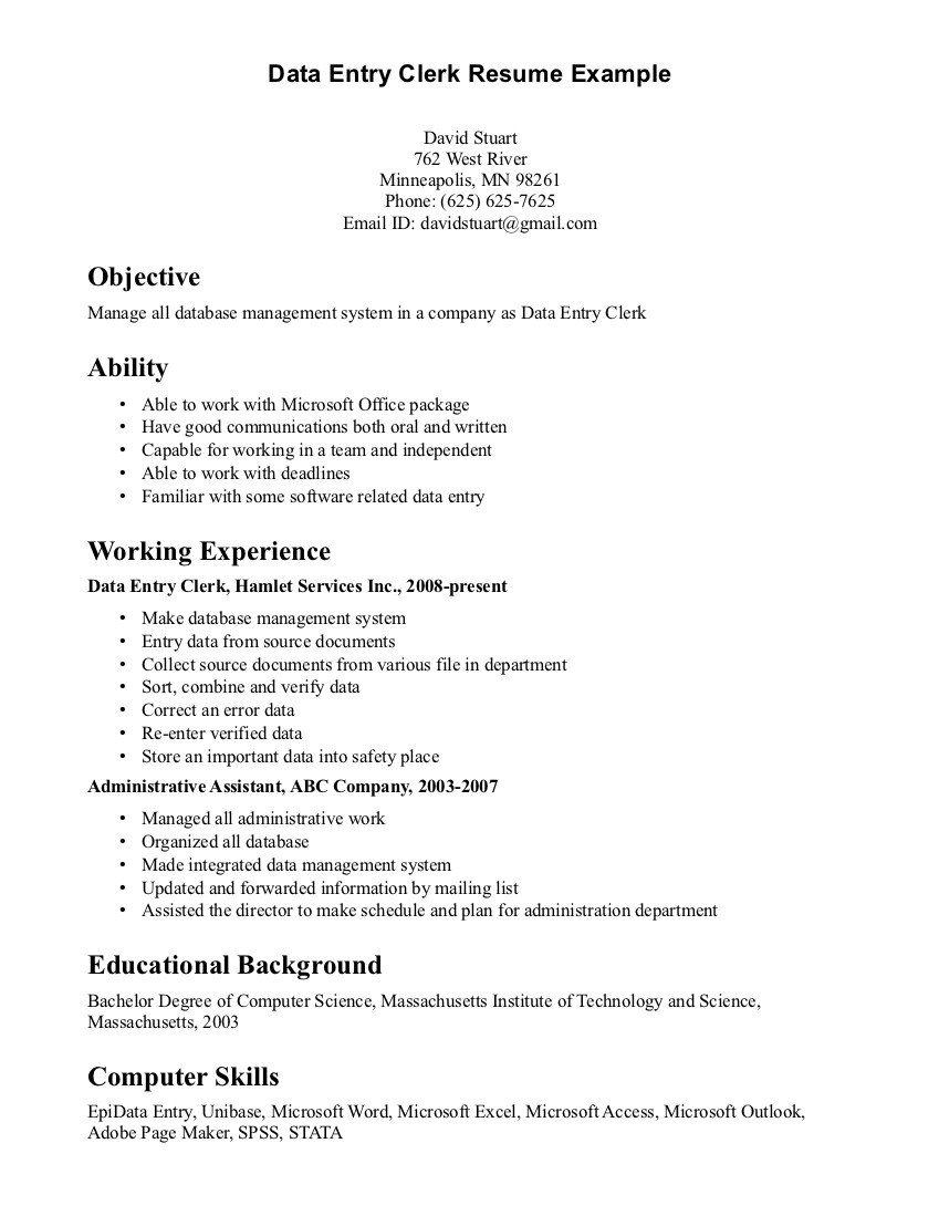 Bookkeeper Sle Resume 28 Images Freelance Writer Cover Letter In Freelance Bookkeeping Contract Template