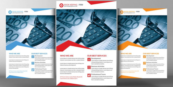 Bookkeeping Photos Graphics Fonts Themes Templates Creativ With To Bookkeeping Flyer Template
