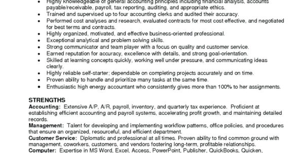Bookkeeping Resume Samples Entry Level Accounting Sample With Bookkeeping Resume Samples