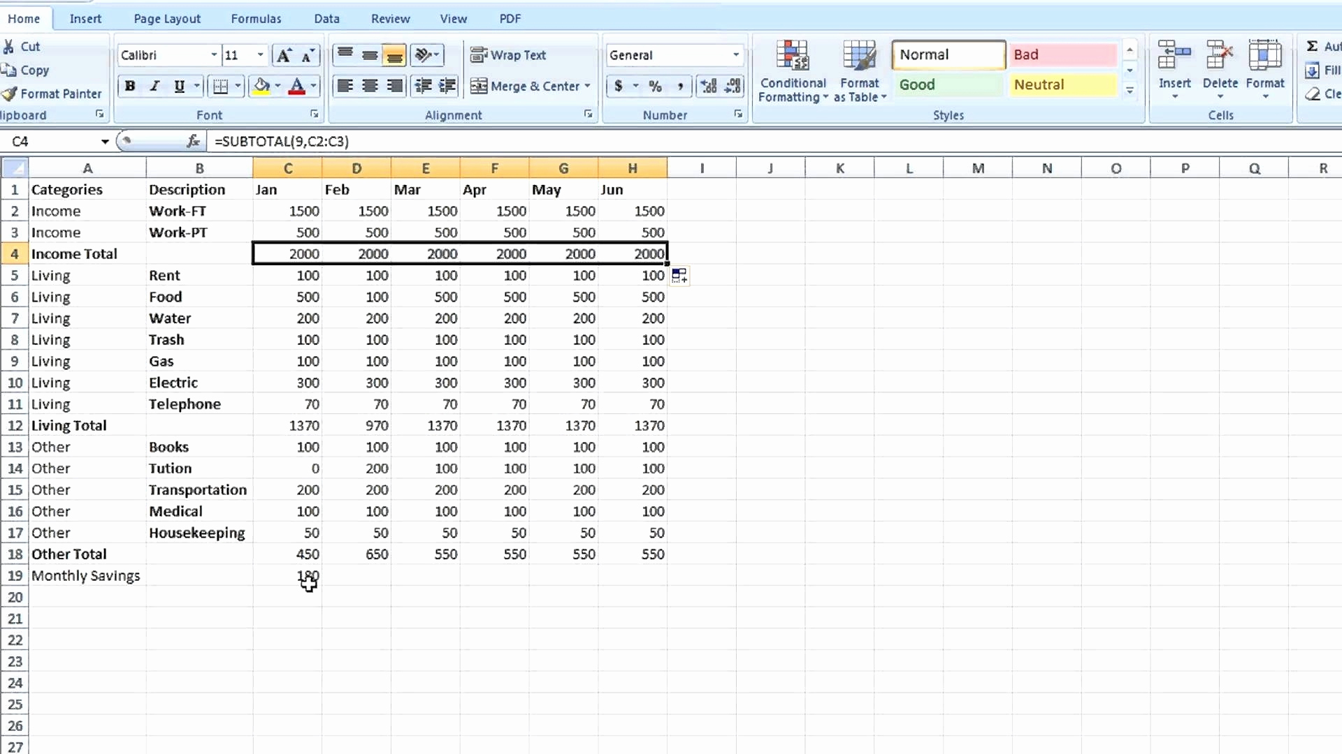 Bookkeeping Spreadsheet Using Microsoft Excel Awesome Bookkeeping To Bookkeeping Spreadsheet Using Microsoft Excel