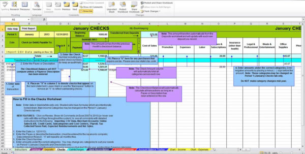 Bookkeeping Spreadsheet Using Microsoft Excel | Homebiz4U2Profit Inside Bookkeeping Excel Spreadsheets