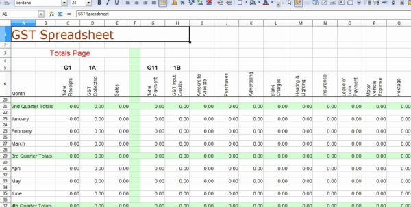 Bookkeeping Templates Free Download 1   El Parga Inside Free Bookkeeping Templates