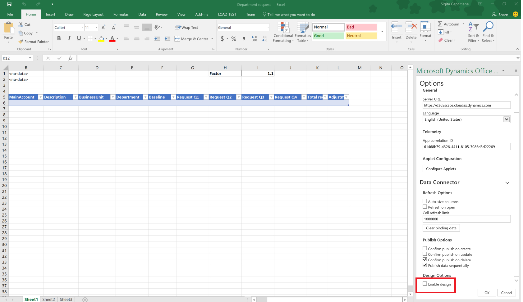 Budget Planning Templates For Excel   Finance & Operations For Excel Spreadsheets Templates