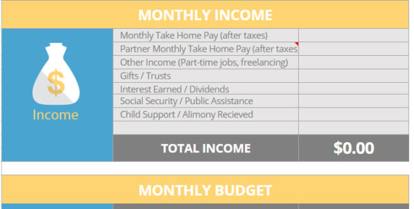 Budgeting Excel Template Spreadsheet   Free Downloadsafetynet In Excel Spreadsheet Templates Budget