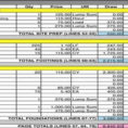 Building Construction Estimate Spreadsheet Excel Download As Intended For Construction Cost Estimate Format