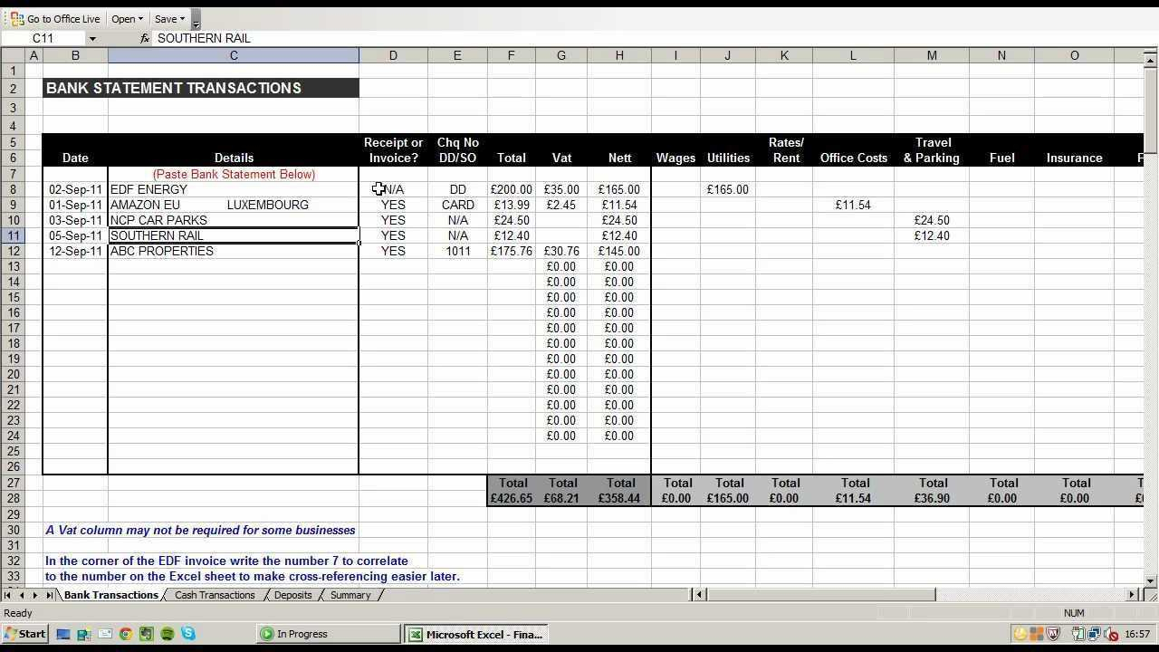 Business Budget Spreadsheet Template Example Of Expenditure Expense And Budget Spreadsheet Template