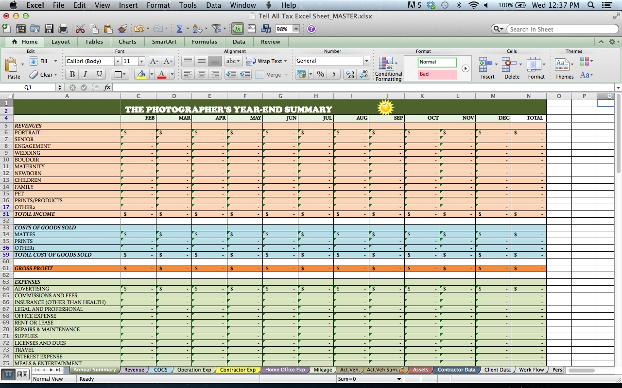Business Expense And Income Spreadsheet | Laobingkaisuo Inside And Contractor Bookkeeping Spreadsheet