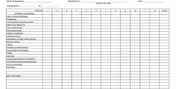 Business Expense Categories Spreadsheet As Excel Spreadsheet Intended For Excel Spreadsheet Template For Expenses