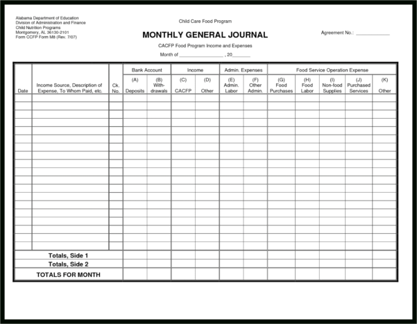 Business Ledger Example Samples Of Vouchers Certificate Word Inside With Double Entry Bookkeeping Template Spreadsheet
