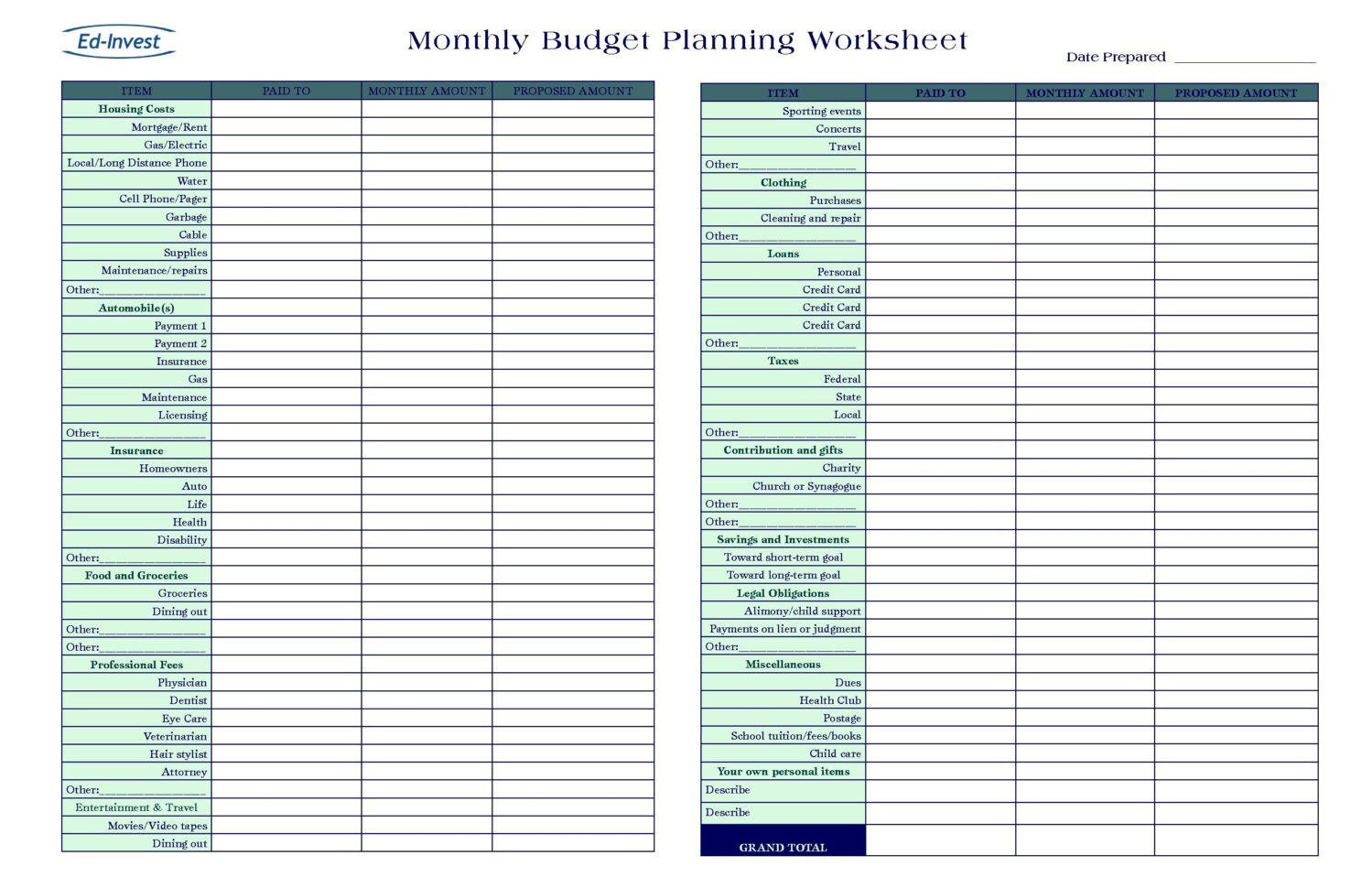 Business Monthly Budget Template New Small Business Expenses Throughout Monthly Financial Budget Template
