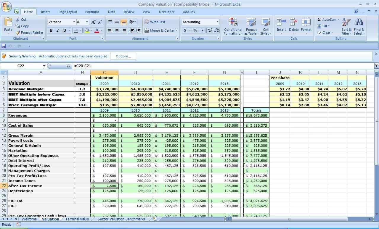 Business Plan Spreadsheet Template - Resourcesaver With Business Plan Spreadsheet Template