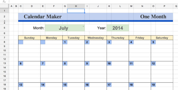 Calendar Spreadsheet On Excel Spreadsheet Excel Spreadsheet Tutorial In Calendar Spreadsheet