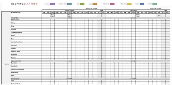 Calendar Template Online   Free Calendar Collection To Marketing Calendar Template Free
