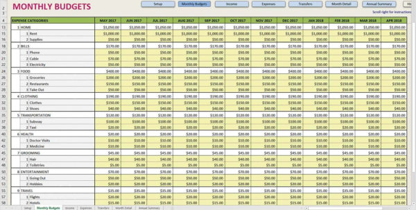 Church Monthly Financial Report Template Excel And Financial To Monthly Financial Report Format In Excel