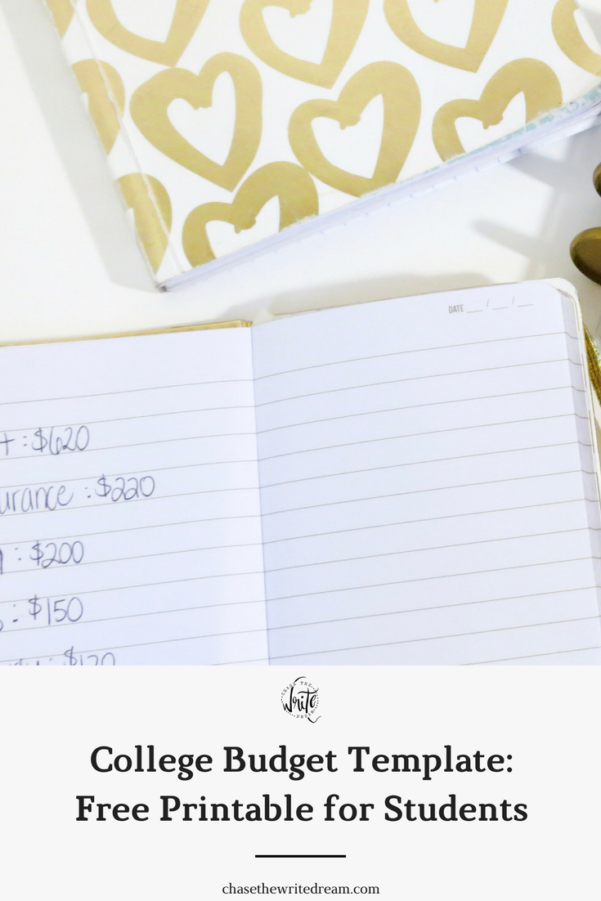 College Budget Template: Free Printable For Students Throughout Financial Budget Template Free