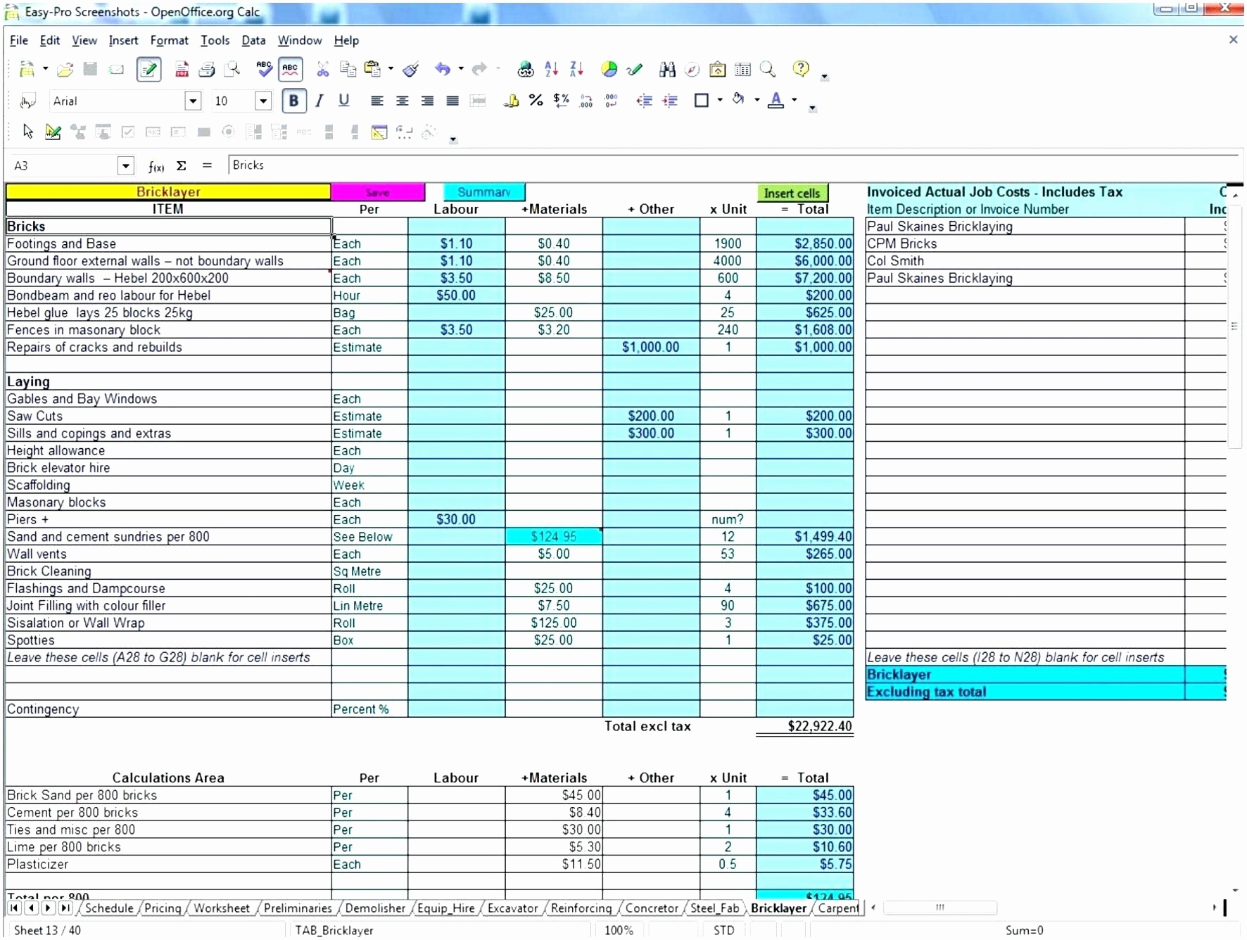 Construction Bid Template – Emmamcintyrephotography Intended For Construction Bid Form Free
