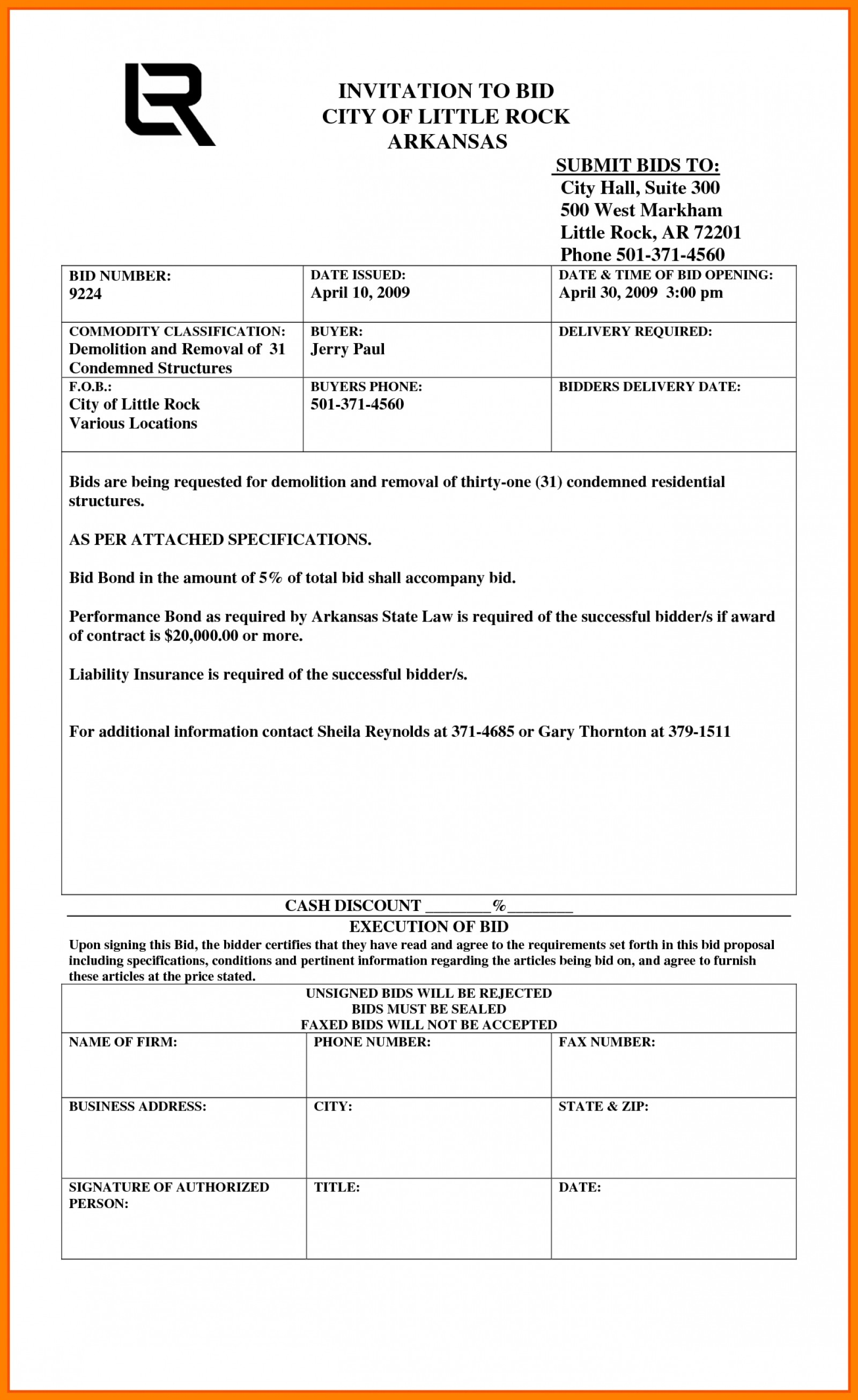 Construction Bid Template Free Excel Construction Quotation Template Intended For Construction Estimate Form Pdf