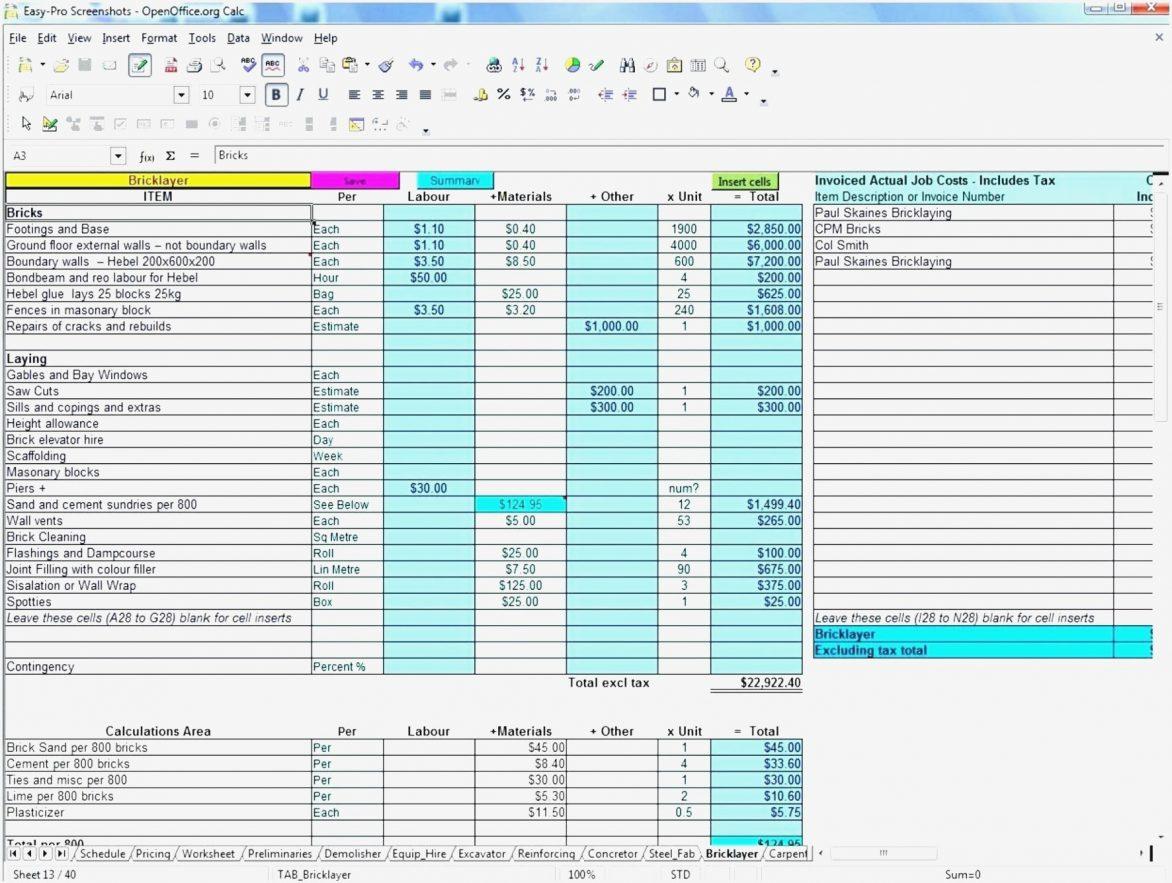 Construction Bid Templates Excel Inspirational Template Estimate 9 To Construction Bid Form Excel