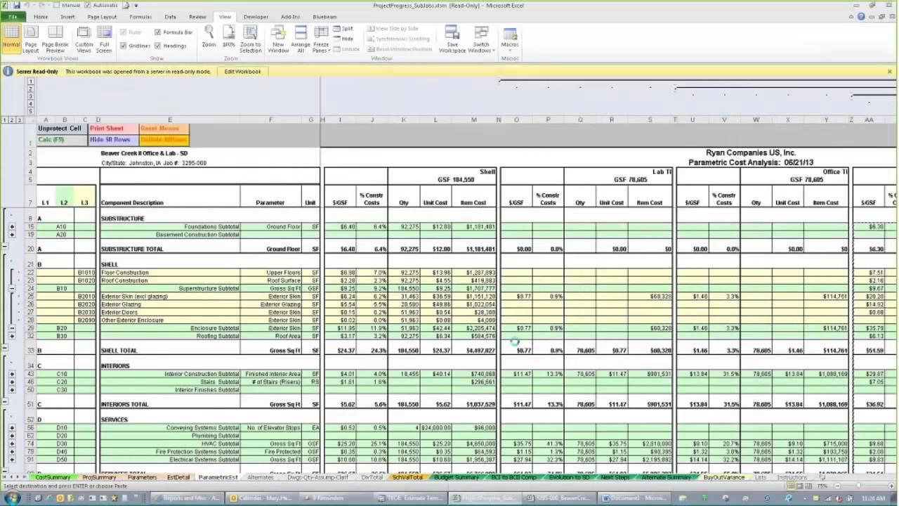 Construction Cost Template Excel - Zoro.9Terrains.co Inside Construction Estimate Form Excel
