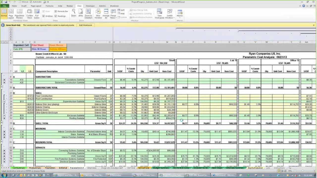Construction Estimating Excel Spreadsheet | Sosfuer Spreadsheet To Residential Construction Estimate Spreadsheet