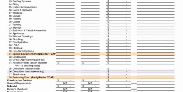 Construction Estimating Spreadsheet Template Best Of Home Building For Construction Estimating Spreadsheet Template