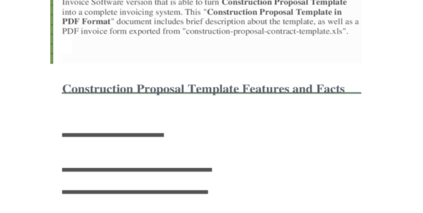 Construction Forms   41 Free Templates In Pdf, Word, Excel Download Within Construction Bid Form Excel