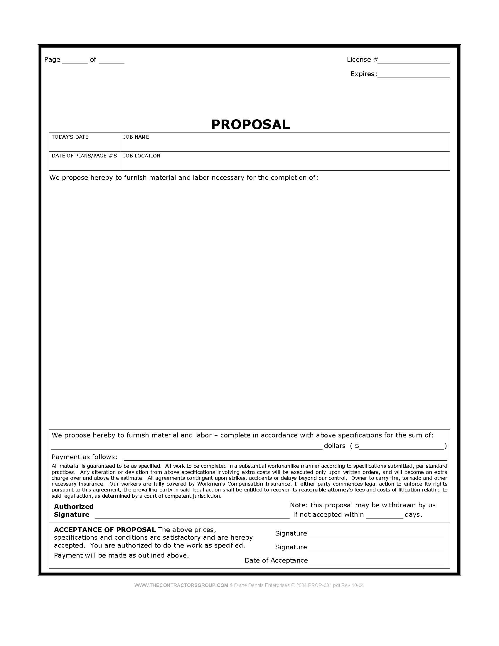 Construction Forms Form Unusual Templates Free Steel Inc Proposal And Construction Estimate Forms Free