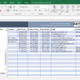 Contact List Template In Excel   Free To Download & Easy To Print within Spreadsheet Templates Excel
