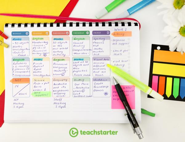 Create Your Own Teacher Planner Using Printable Templates For Teacher Printable Templates