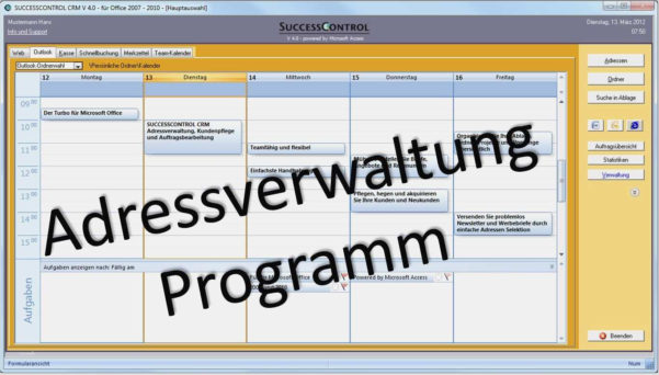 Crm Excel Vorlage Kostenlos Best Of Adressverwaltung • Crm Software And Freeware Crm Excel Template