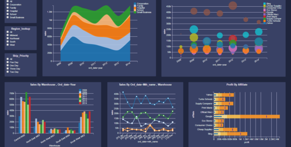 Dashboard Examples   Gallery | Download Dashboard Visualization Software In Free Dashboard Software For Excel 2010