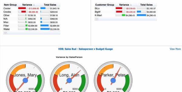 Dashboard Templates Plan Template Single Powerpivot And Ssas Data With Excel Kpi Gauge Template
