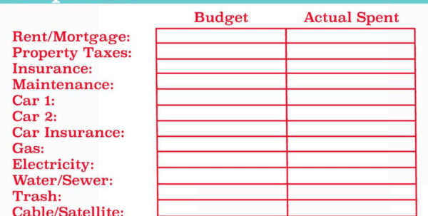 Dave Ramsey Budget Spreadsheet Template!! Personal Finance Bud Excel In Personal Finance Spreadsheet Templates